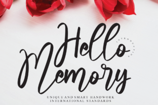 Print on Demand: Hello Memory Script & Handwritten Font By Misterletter.co
