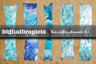 Inked Parchment Vol. 1 | 180 Washi Tapes Graphic Objects By FlyingMonkies