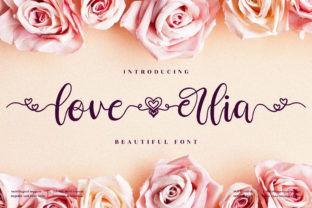 Print on Demand: Love Erlia Script & Handwritten Font By perspectype