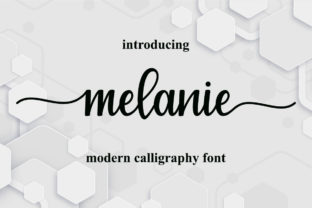 Print on Demand: Melanie Script & Handwritten Font By cavalera creative