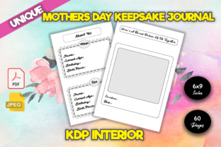 Print on Demand: Mothers Day Keepsake Guided Journal Graphic KDP Interiors By KDP Crew