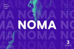 Print on Demand: Noma Display Font By creative.corner.62