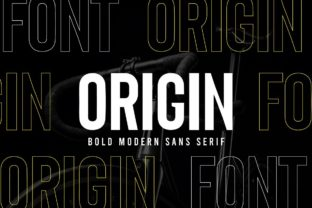 Print on Demand: Origin Sans Serif Font By creative.corner.62