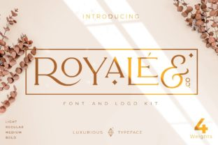 Print on Demand: Royale Serif Font By creative.corner.62