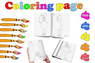 Sport Coloring Page PDF. Sporty Pear. Graphic Coloring Pages & Books Kids By catcher_sketcher