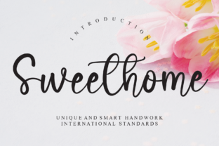 Print on Demand: Sweethome Script & Handwritten Font By Misterletter.co