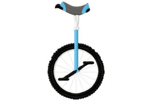 Print on Demand: Unicycle for Children and Circus Circus & Clowns Embroidery Design By Dizzy Embroidery Designs