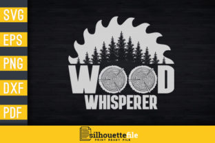 Print on Demand: Wood Whisperer Graphic Print Templates By Silhouettefile