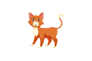 Cat Graphic Illustrations By immut07