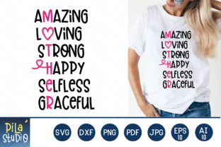 Amazing Loving Strong Happy Selfless Svg Graphic Illustrations By Pila Studio
