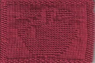 Print on Demand: Apple Cloth Knit Dishcloth Pattern Graphic Knitting Patterns By Heather Wiegel