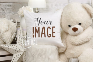 Children's Baby Bedroom Mockup Pillow Graphic Product Mockups By Mockup Central