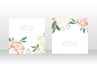 Print on Demand: Classic Watercolor Wedding Party Invite Graphic Graphic Templates By PatternHousePk