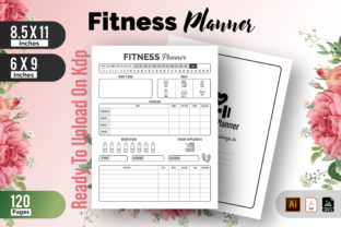 Fitness Planner | Workout Kdp Interior Graphic KDP Interiors By Raw Vector