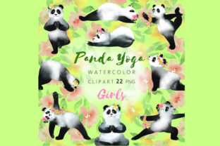 Watercolor CUTE Spring Clipart Graphic Illustrations By KARIMZA watercolor