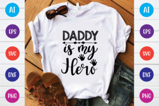 Daddy is My Hero Graphic Print Templates By Printable Store
