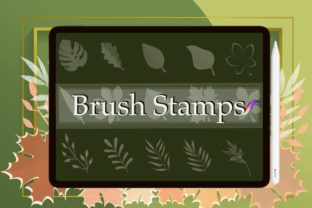 16 Leaves Stamp Brushes Procreate Graphic Brushes By Digital ideas Art