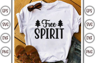 Print on Demand: Boho Quotes Design, Free Spirit Graphic Print Templates By GraphicsBooth