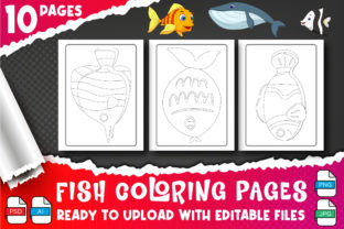 Fish Coloring Pages for Kids & Adult Graphic Coloring Pages & Books Kids By Profit creator