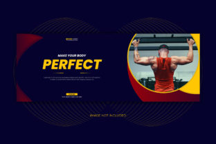 Gym Fitness Center Facebook Cover Banner Graphic Web Templates By grgroup03