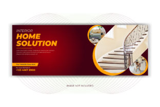 Real Estate Home Sale Facebook Cover Graphic Web Templates By grgroup03
