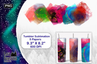 Skinny Tumbler Alcohol Ink Geode Graphic Crafts By Last Frontier Design Co.