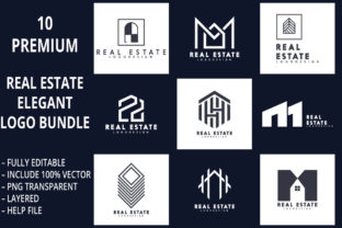 10 Premium Real Estate Logo Bundle Graphic Logos By graphicstorm