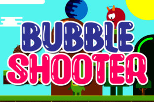 Print on Demand: Bubble Shooter Display Font By Mr.Soon Design