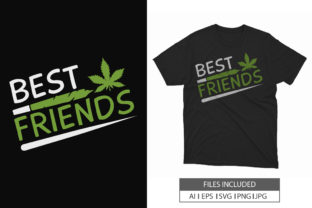 Cannabis Weed T-Shirt Vector SVG File Graphic Print Templates By hossaingrde