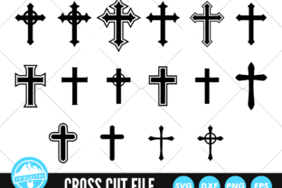 Cross SVG | Christian Cross Cut File Graphic Crafts By lddigital