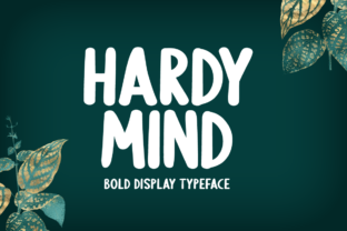 Print on Demand: Hardy Mind Display Font By Seemly Fonts