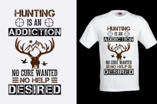 Hunting T Shirt Design 03 Graphic Print Templates By Creativeinside