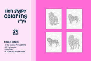 Print on Demand: KDP Interiors - Animal Coloring Pages Graphic Coloring Pages & Books Kids By fuad333