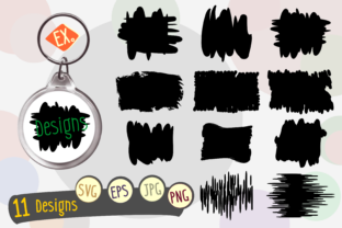 Print on Demand: Keychain Design for Easy Graphic Brushes By Kiang Stock Digiart