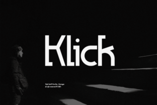 Print on Demand: Klick Slab Serif Font By Grontype