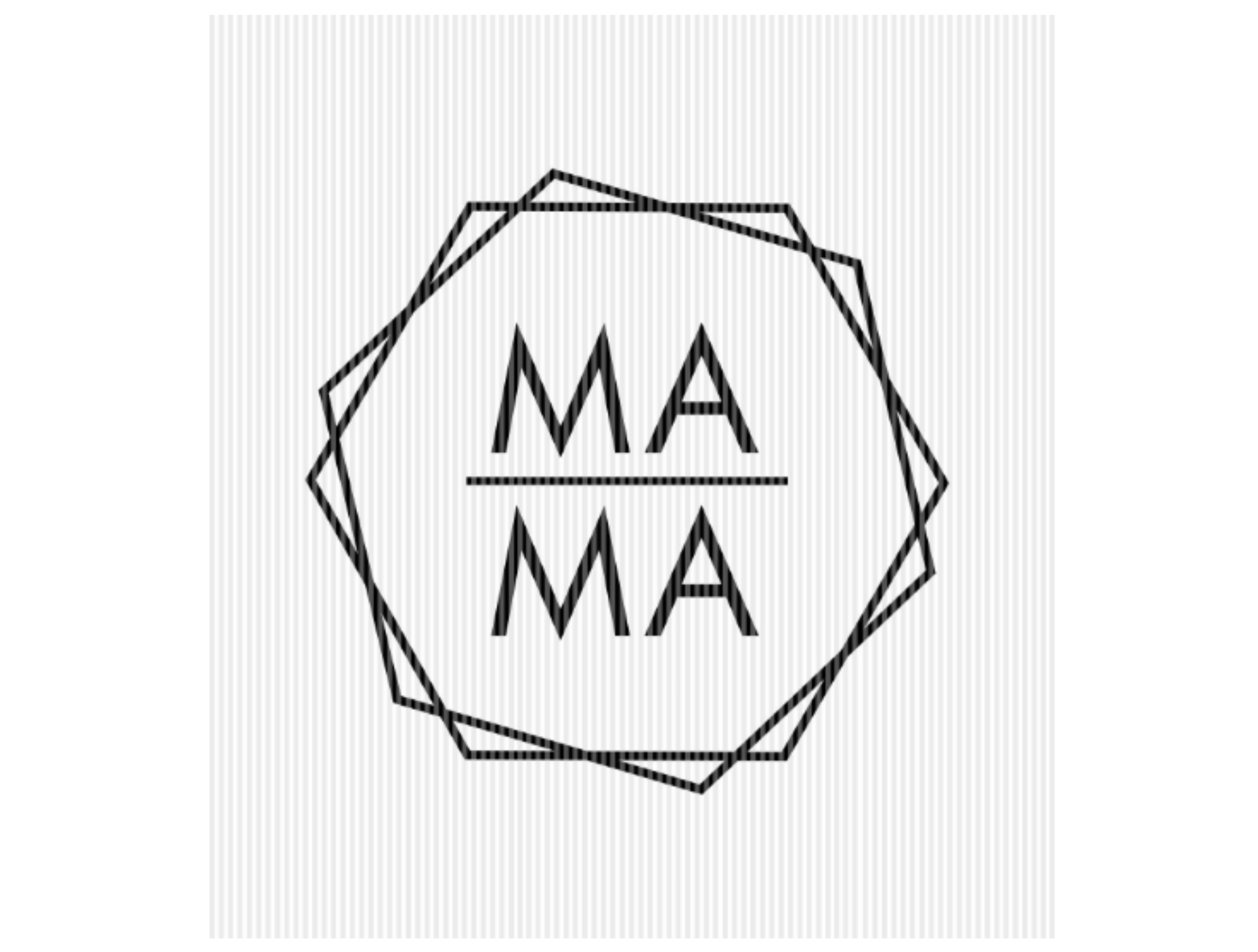 Mama Hexagon Frame Mother's Day Quote SVG File