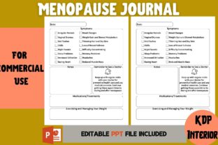 Print on Demand: Menopause Journal | KDP Interior Graphic KDP Interiors By Cool Worker