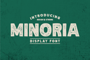 Print on Demand: Minoria Display Font By Colative