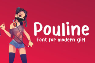 Print on Demand: Pouline Script & Handwritten Font By Cititype