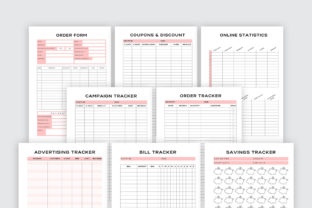 Print on Demand: Printable Business Planner Bundle Pack Graphic KDP Interiors By AmitDebnath 5