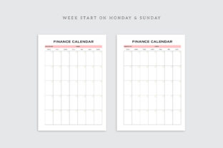 Print on Demand: Printable Business Planner Bundle Pack Graphic KDP Interiors By AmitDebnath 6