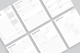 Print on Demand: Printable Ultimate Planner Bundles Graphic KDP Interiors By AmitDebnath 4
