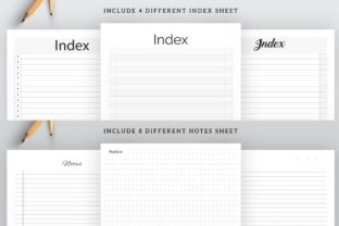 Print on Demand: Printable Ultimate Planner Bundles Graphic KDP Interiors By AmitDebnath 5