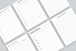 Print on Demand: Printable Ultimate Planner Bundles Graphic KDP Interiors By AmitDebnath 7