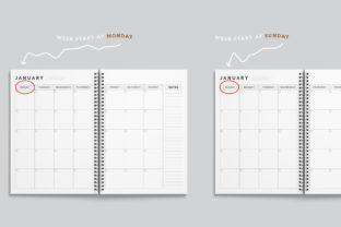 Print on Demand: Printable Ultimate Planner Bundles Graphic KDP Interiors By AmitDebnath 8
