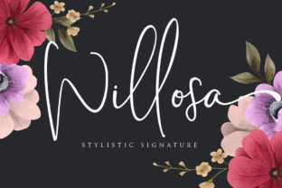 Print on Demand: Willosa Script & Handwritten Font By Septa Script
