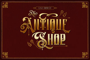 Print on Demand: Barones Blackletter Font By Burntilldead 7