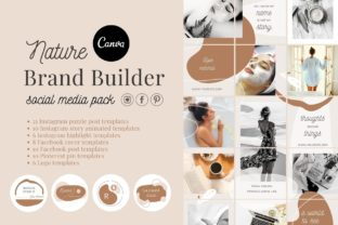 Print on Demand: Canva Branding Kit Social Media Pack Graphic Graphic Templates By Red Ink