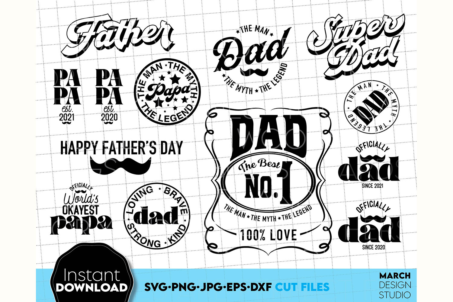 Fathers Day Gift SVG Bundle Gift for... SVG File