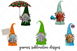 Print on Demand: Gnomes Sublimation Designs Graphic Illustrations By JSKDEESIGN